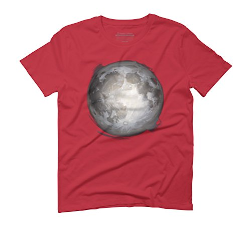 Full Moon Men's Graphic T-Shirt - Design By Humans Red