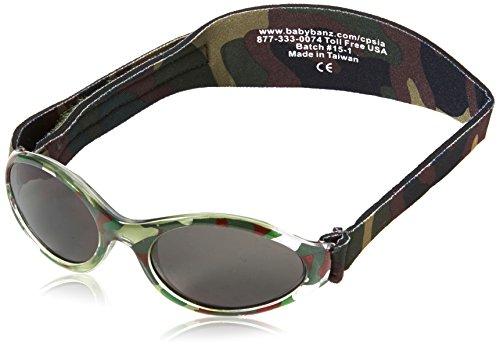 Baby Banz Herren 339147boys Oval Sonnenbrille, Green Camo