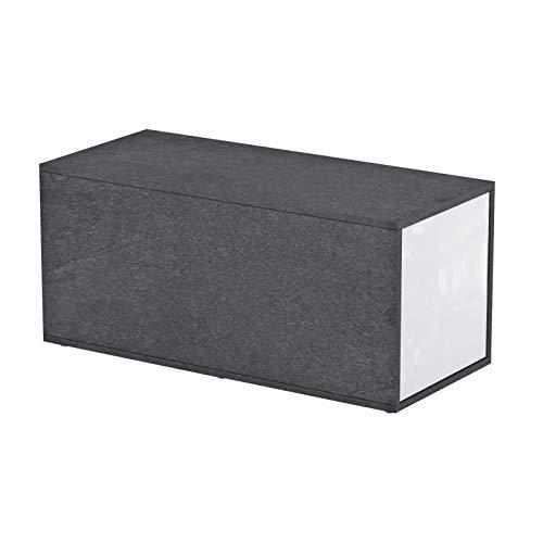 Habitat et jardin - Table basse Gummy - 90/150 x 41 x 41 cm - Blanc
