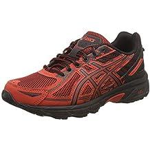 Amazon.es  zapatillas asics rojas y negras c7b650176c25e