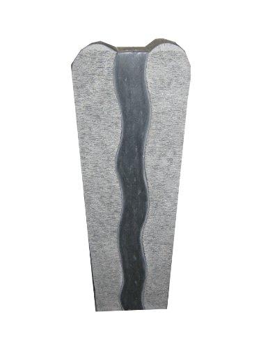 floristikvergleich.de Brunnen Wasserspiel Granit dunkelgrau 31x12x60cm