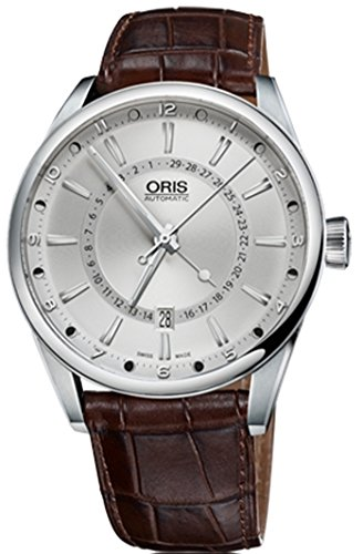 R. ORIS ARTIX POINTER MOON DATE 42MM E/S relojes hombre OR76176914051LS