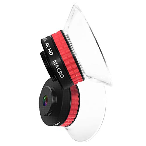 Handy Objektiv, 20X + 10X Super Makro Objektiv, HD Kamera Objektiv für iPhone, Samsung, Android Smartphone, Schärfentiefe Wirkung, Micro World