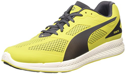Puma - ignite mesh, sneakers da uomo, giallo (gelb (sulphur spring-periscope 02)), 43