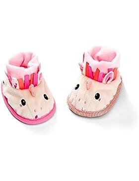 Lilliputiens 83010 Krabbelschuhe / Hausschuhe für Neugeborene und Babies, ab 0 Monaten, mit illustrierter Geschenkverpackung