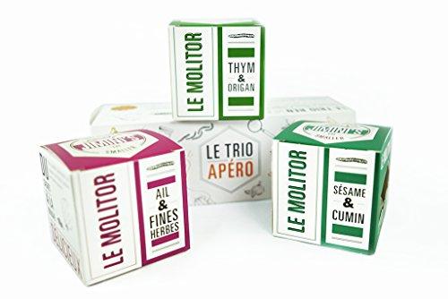 Insetti commestibili JIMINI'S - 3 scatole di vermi della farina per antipasto