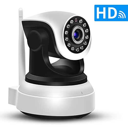 Security Camera,SDETER WiFi IP Camera HD For Home Security Surveillance Baby Monitor With PTZ Two Way Audio and Night Vision 41VCcmKL5kL