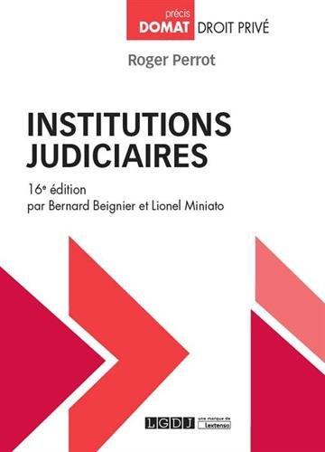 Institutions judiciaires