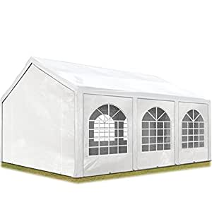 toolport hochwertiges partyzelt 3x6 m pavillon zelt 240g m pe plane gartenzelt festzelt. Black Bedroom Furniture Sets. Home Design Ideas