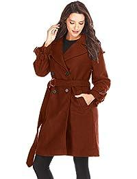 941056a744d Vitila Abrigo, Vestido De Mujer, Abrigo De Lana De Mujer, Abrigo De Lana