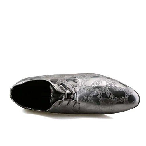 ZXCV Scarpe all'aperto Scarpe da uomo appuntate all'aperto scarpe da uomo traspiranti Silver