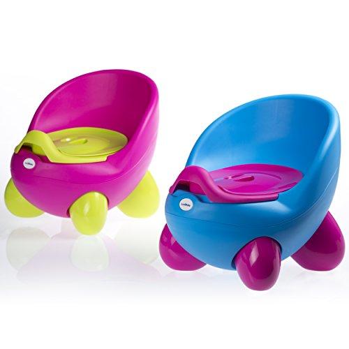 Töpfchen-Sitz von Luvdbaby/ Herausnehmbares inneres Töpfchen/ Hohe Rückenlehne und ergonomisches Design/ Nicht-rutschende Füßchen/ Tolles Design, das Ihre Kinder lieben werden