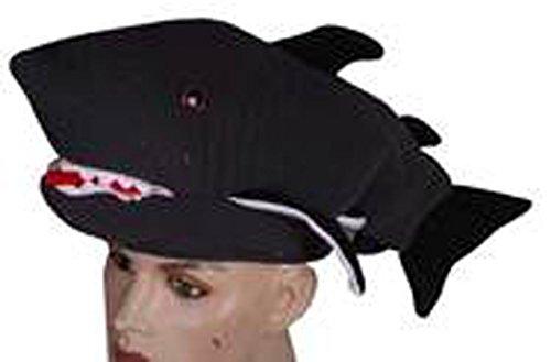 Panther Kleidung Pink (Bada Bing Hai Mütze grau Kostüm Verkleidung Fisch Fischkopf Karneval)