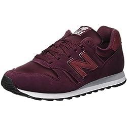 New Balance 373, Zapatillas para Mujer, Rojo (NB Burgundy/Silver Mink Bsp), 39 EU