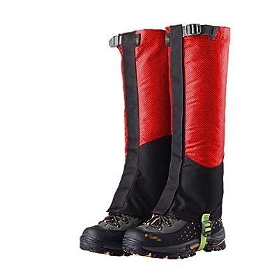 XIAXIACP Skischuhe Gamaschen, Desert Gamaschen Desert Abriebfeste Oxford Outdoor Warme Schuhe Decken Reinigung für Bergwandern Wandern Klettern,A von XIAXIACP - Outdoor Shop
