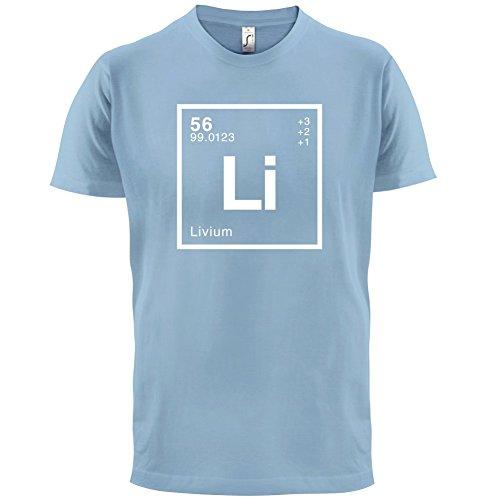 Liv Periodensystem - Herren T-Shirt - 13 Farben Himmelblau
