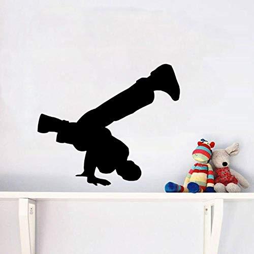 Fagreters 54 Cm * 46 Cm Gymnastik-Dekorations-Wand-Aufkleber Pvc-Küchen-Und Turnhallen-Wohnzimmer-Schlafzimmer-Badezimmer-Dekorations-Küchen-Wand-Aufkleber Für Schlafzimmer-Mädchen-Jungen (Gymnastik-kuchen-dekorationen)