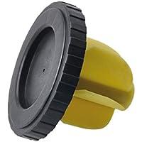 Simplemente efc01emergencia tapa de combustible Universal Flexible Material para todos los coches y furgonetas, cabeza del tornillo, ajuste fácil de gasolina Diesel repuesto Simple empuje y tire acción reutilizable