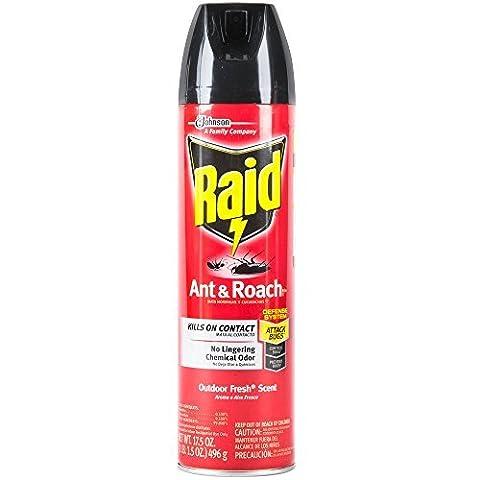 RAID ANT & ROACH OUTDOOR FRESH 17.5 OZ by Diversey