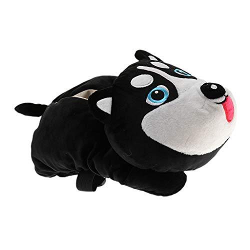 B Baosity Multifunktionale Auto Taschentuchbox Cartoon Spielzeug Tissue Box - Hund 1