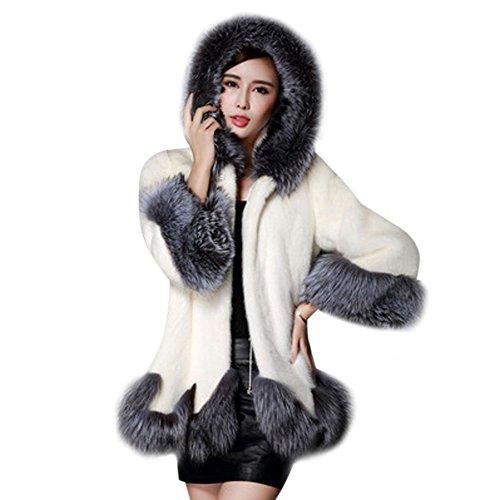 Sale Canada Goose (VRTUR Damen Warmer Winter lose Langarm Parka Outwear Fox Pelzmantel Mantel)