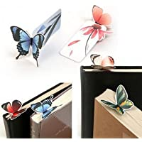 Lookout 20 pcs mariposa Bookmark Decoración