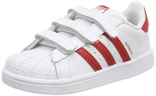 adidas Superstar CF I, Scarpe da Fitness Unisex-Bambini, Bianco (Blanco 000), 26 EU