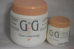 G & G Teint Uniforme Lightening Beauty Creme With D.S.N. 16 Oz.