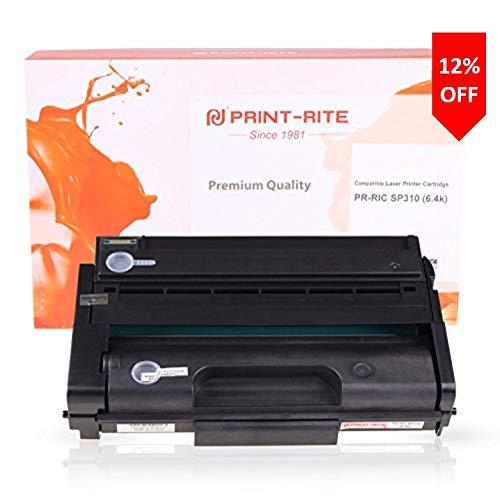 Print-Rite SP310 SP 311l 311h Cartucho de Tóner Negro 6400 Páginas para Ricoh SP 311dn DNW SFN SFNW SP 325DNW SNW SFNW Impresora