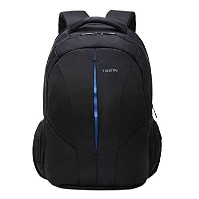 Kopack Laptop bag Slim Anti Theft Computer travel backpack Water Resistant Up To 15.6 Inch Black # --5 stars rated Product in USA #