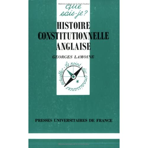 Histoire Constitutionnelle Anglaise