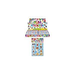 Henbrandt Pirate Fun Stickers, Assorted Designs (12 Packs Of 12 Stickers Each)