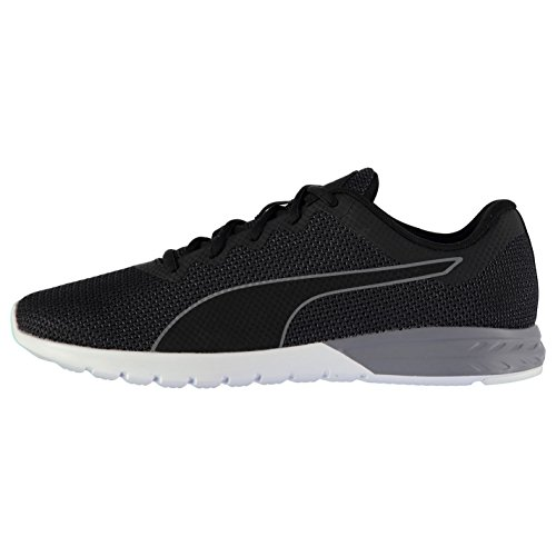 Puma Vigor Herren Laufschuhe Sportschuhe Turnschuhe Leicht Running Sneaker Schuhe Black/White 11 (45)
