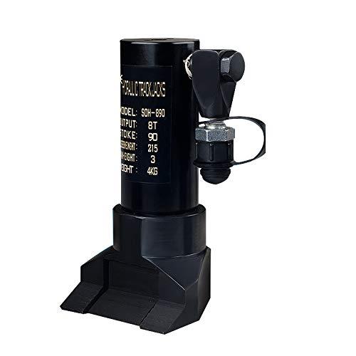 Huanyu SOH-890 Hydraulischer Türöffner Brecher Edge Lifter Claw Style Lifting Jack Fire Rescue Tool 8T 90MM (mit einer CP-700-2 Manuellpumpe) -