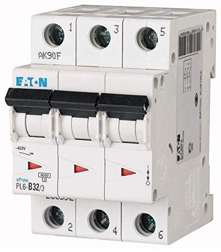 Leitungsschutzschalter CIRCUIT BREAKER 32A 3P/PL6-C32/3 EATON -