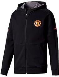Manchester United 17/18 - Sweat de Foot Anthem à Capuche Équipe - Noir
