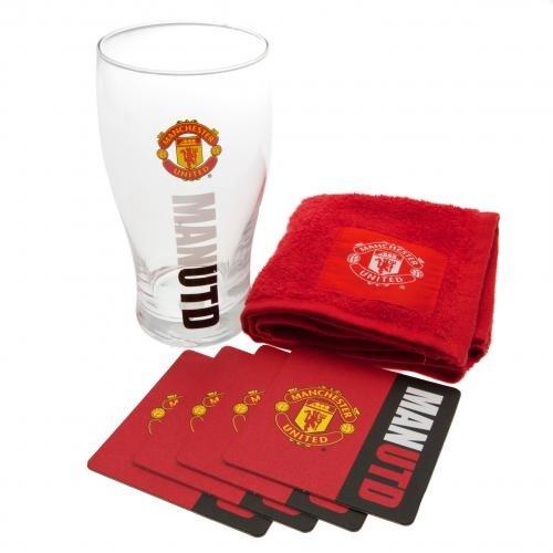 Manchester United Arbeit Mark Mini Bar Set-Mehrfarbig - United Manchester