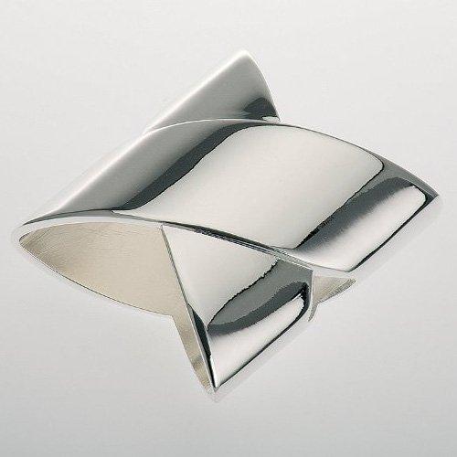 Moderner Serviettenring versilbert Silber Serviettenringe