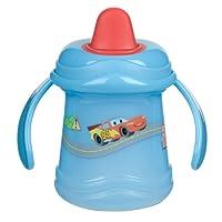 Disney's Cars 30503 0011 80 - Auslaufsichere Trinklerntasse mit 2-Griff-Henkel Cars