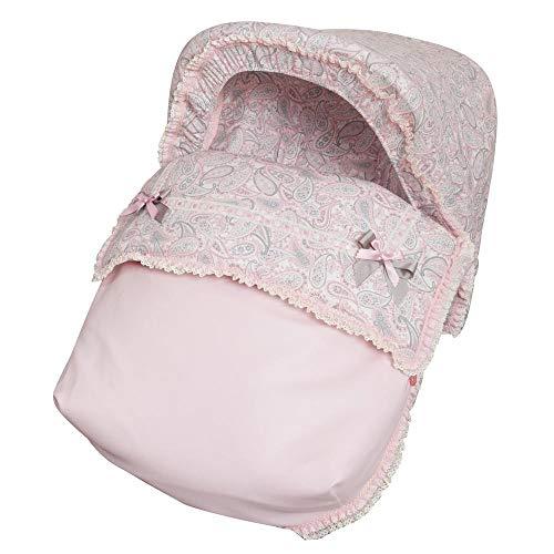 Imagen para Babyline Caramelo - Saco porta bebé, grupo 0, color rosa