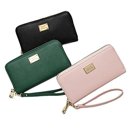 Fulltime-Damen-Lady-PU-Leder-Geldbrse-Clutches-Mdchen-Portemonnaie-Brieftasche-Handtasche-Geldbeutel-Lang