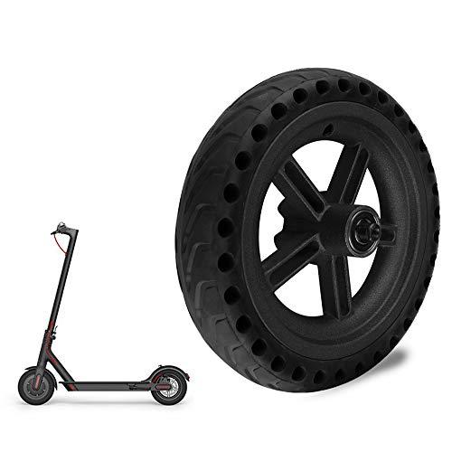 Galapara Ersatz Reifen für Xiaomi M365,Reifen Felge Reifen vorne/hinten Honeycomb Rubber Solid Elektroroller Explosionsgeschützter Reifen mit Wabenstruktur für den Elektroroller
