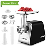 Best Meat Grinders - Electric Meat Grinder, Sausage Maker with 3 Grinders Review