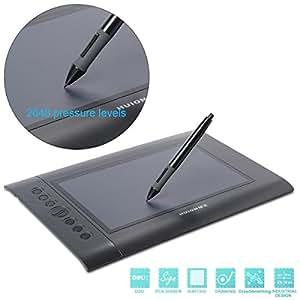 """Huion H610 10""""x 6.25"""" Tablette Graphique Stylet Numérique Professional USB Design Dessin Capture Tablette BI002"""