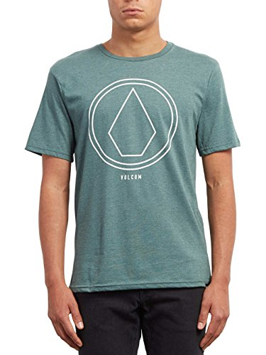 68c06d7a8 Volcom PINLINE Stone HTH SS t-Shirt Manches Courtes Homme, Pine, FR :