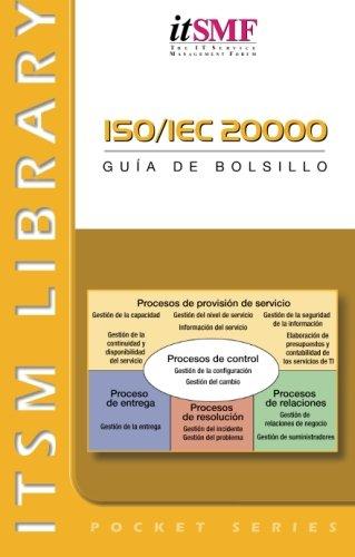 ISO/IEC 20000: guâa de bolsillo: Guia De Bolsillo