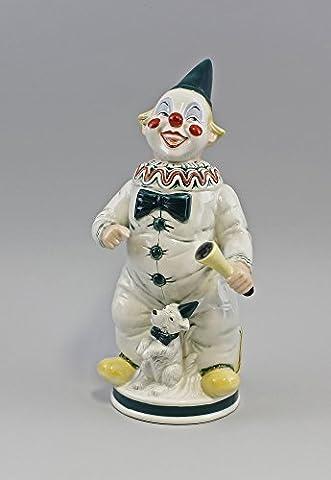 Clown En Porcelaine - Figurine en porcelaine rieur