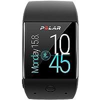 Polar, M600, Smartwatch Orologio GPS con Cardiofrequenzimetro Incluso, Monitoraggio Attività Fisica e Funzioni Smart Coaching, Unisex - Adulto, Nero
