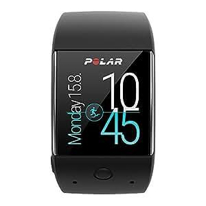 Polar, M600, Smartwatch Orologio GPS con Cardiofrequenzimetro Incluso, Monitoraggio Attività Fisica e Funzioni Polar Smart Coaching, Unisex - Adulto, Nero