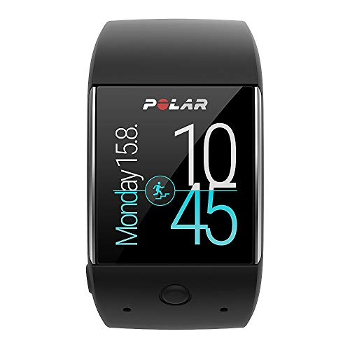 Polar M600 - Smartwatch con GPS Integrado y Pulsómetro HR en la Muñeca, Negro, M/L